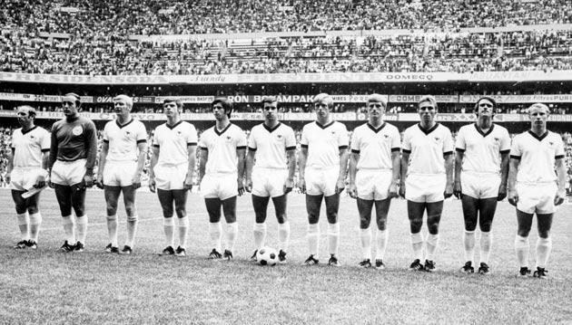 <b>70. GAME OF THE CENTURY</b><br/> The 1970 World Cup tends to conjure images of Gordon Banks' save and the imperious Brazil squad that would go on to win the tournament in Mexico. Yet arguably the greatest moment of the tournament was the semi-final bet