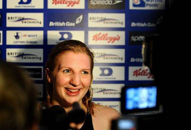 Rebecca Adlington is still the centre of attention as British swimming's finest compete in Sheffield