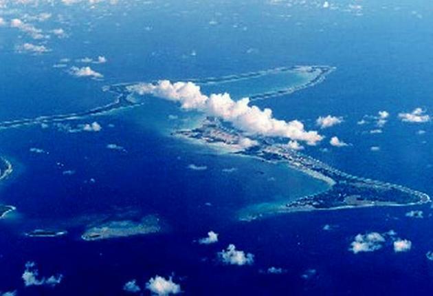 Diego Garcia airbase on the Chagos Islands grew in strategic importance after 9/11