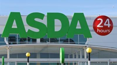 An Asda supermarket store logo