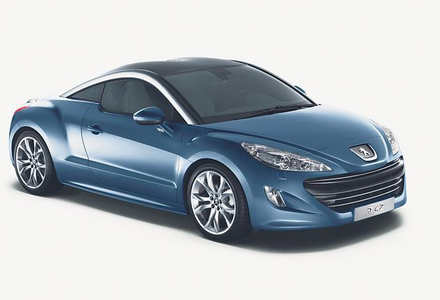 Rekindling a lost art: the double-bubble roof, aluminium rails, minimal rear seats, and self-raising spoiler give the RCZ an exotic - and purposeful - look