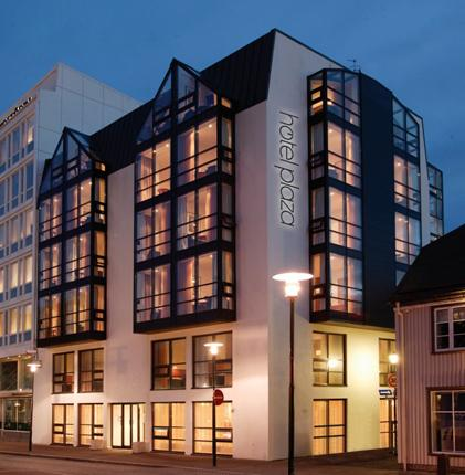 You could be the lucky winner of two nights' B&B at the CenterHotel Plaza in Reykjavik.