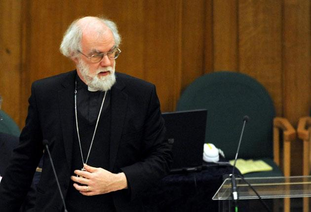Dr Rowan Williams apologised for saying the Catholic Church had lost 'all credibility' over the way it dealt with paedophile priests