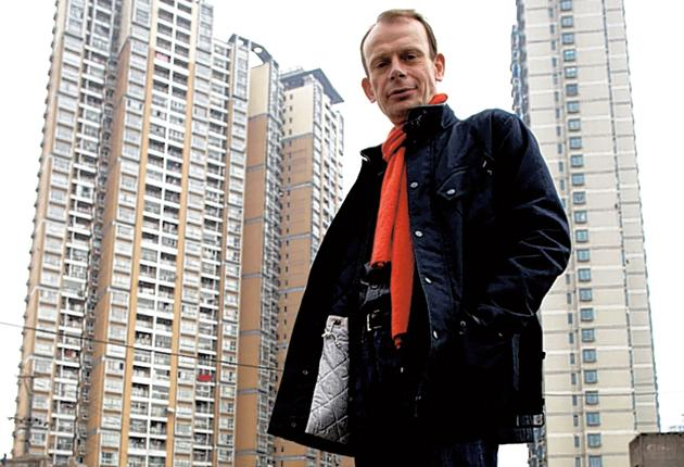 Andrew Marr in the new series Megacities
