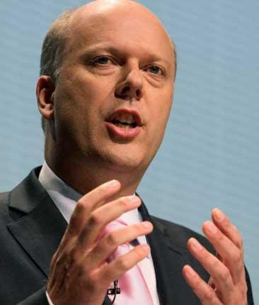 Chris Grayling has been an invisible man in the campaign this week
