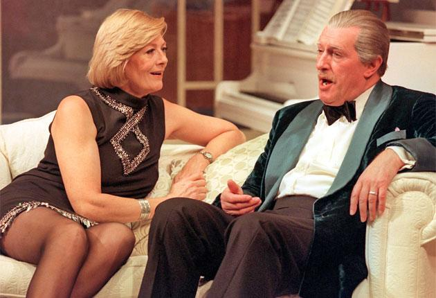 Redgrave with his sister Vanessa in Noël Coward's 'A Song at Twilight' at the Gielgud Theatre in London in 1999