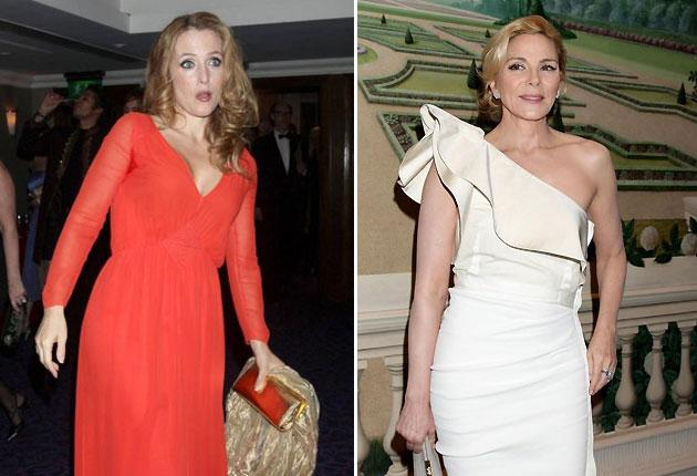 Gillian Anderson (left) and Kim Cattrall will star as the Duchess of Windsor and a glamorous lover
