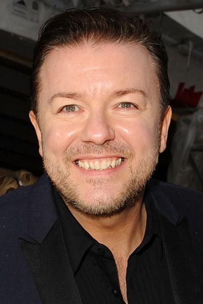 Ricky Gervais is now committed to a healthier lifestyle