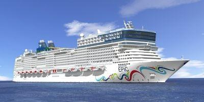 The Norwegian Epic features 'Studio' rooms to increase the appeal to younger travelers.