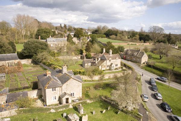 The villagers of Coleshill in Oxfordshire have shown that people can think beyond the constraints of traditional buildings