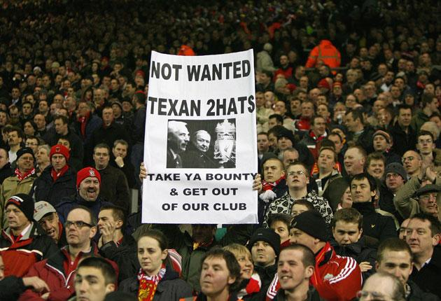 Another Kop-out? Tom Hicks and George Gillett still hold all the aces. Martin Broughton - and the Liverpool fans - know that