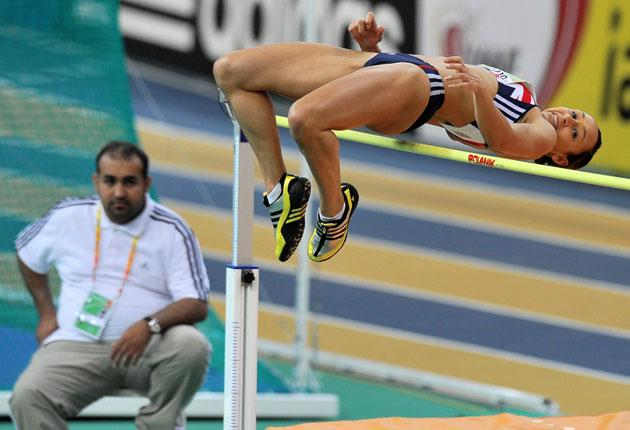 Jessica Ennis does the high jump but this is one of the easiest sports there is – you run, you jump and that's it
