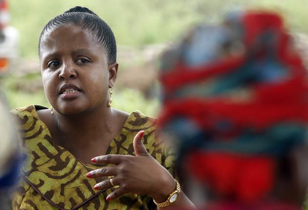 Thuli Brilliance Makama, who was yesterday named among the winners of the Goldman Prize