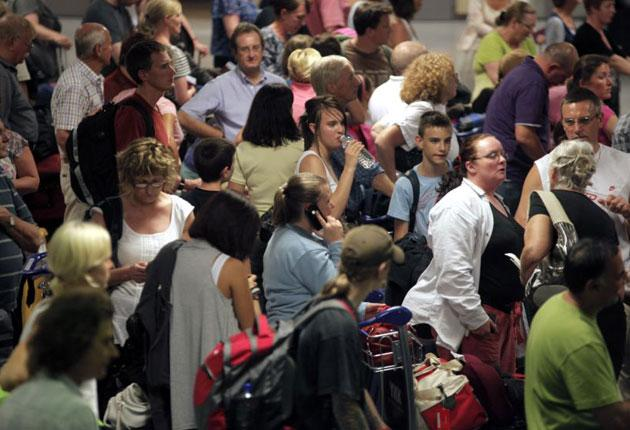 All UK airports reopened but many services were cancelled