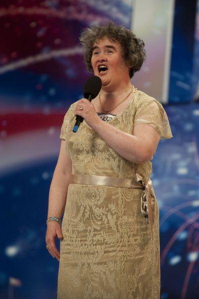 Susan Boyle on 'Britain's Got Talent'