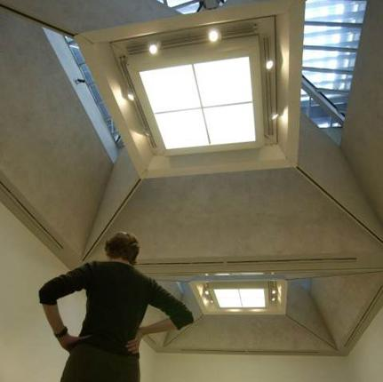 Martin Creed won the Turner Prize in 2001 with his work 227: The Lights Going On and Off, here on display at Tate Britain