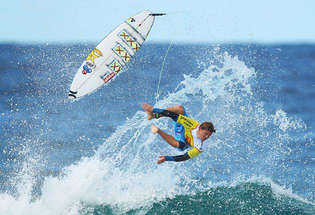 Surfing is a very time-consuming sport for very simple people, some might say