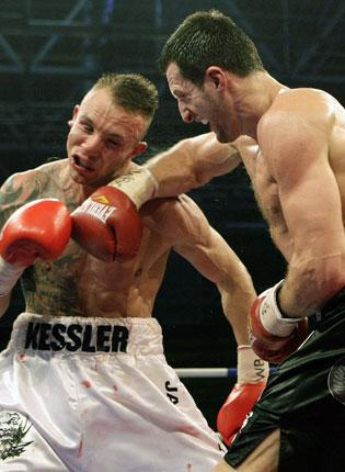 Carl Froch failed to build on the right hook he landed on the chin of Denmark's Mikkel Kessler