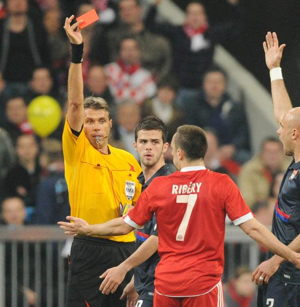 Ribery will miss the final