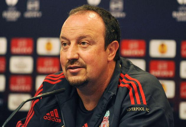 Rafael Benitez on speculation surrounding his future: 'For one year I have been listening to stories about Martin O'Neill taking my job or [Jurgen] Klinsmann, [Frank] Rijkaard. [Jose] Mourinho, or Guus Hiddink - so I have to keep doing my job, focus on th