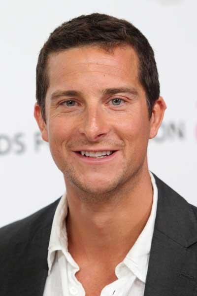 Grylls says: 'I'm not a great one for regrets; I always think whatever doesn't kill us makes us stronger.'
