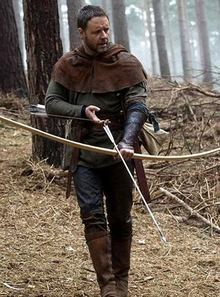 Russell Crowe's Robin Hood has been pulled forward to avoid Wayne Rooney's assault on the World Cup with England