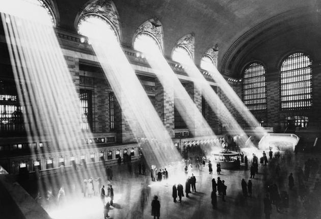 New York's Grand Central Station, circa 1930 – one of the great cathedrals of America's railway age