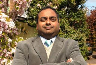 North West Norfolk candidate Manish Sood