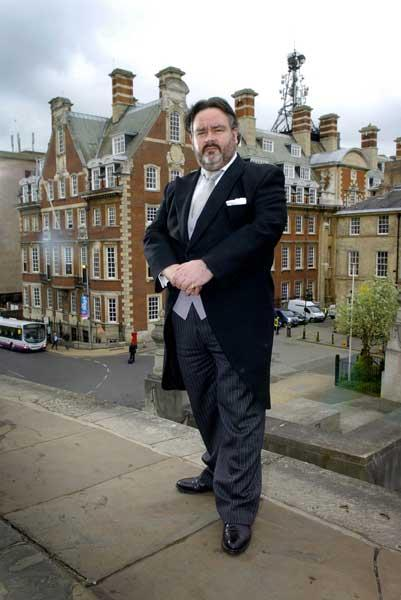 To the manner born: Anthony Seddon-Holland comes from three generations of butlers
