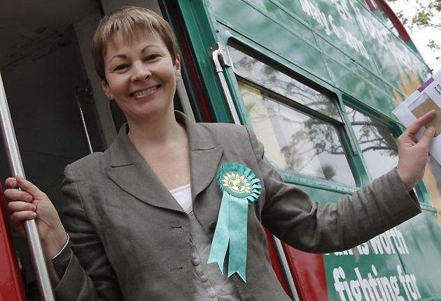 Caroline Lucas became Britain's first Green Party MP after winning the Brighton Pavilion seat