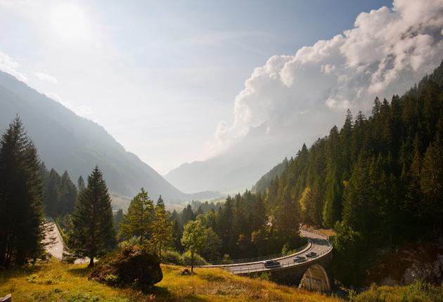 Easy rider: Take in the bridges, valleys and soaring peaks of the Swiss-Italian Alps in a sports car with Ultimate Drives
