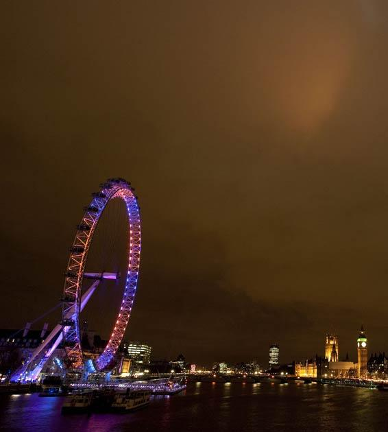 The London Eye is one of the planned venues