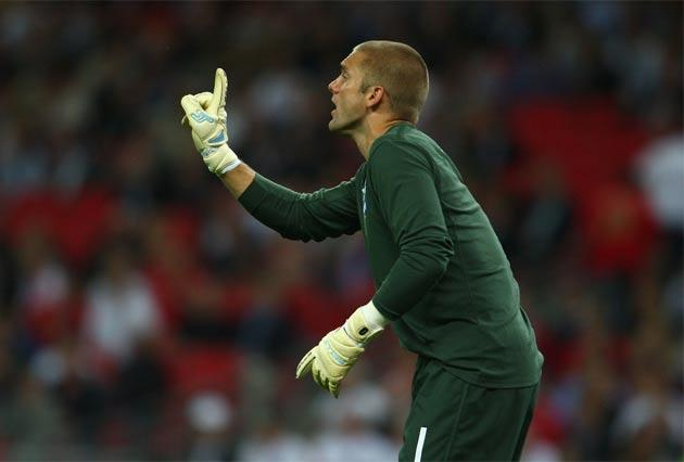 <b>Player: Robert Green </b><b>England caps: </b>9</br>  A difficult season with club side West Ham scrapping in relegation battle. Has certainly had a lot of practice.