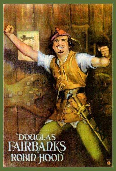 'Robin Hood' (1922) movie poster