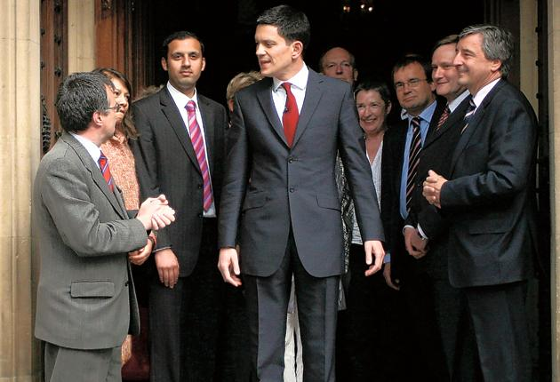 David Miliband enters the contest for the Labour leadership