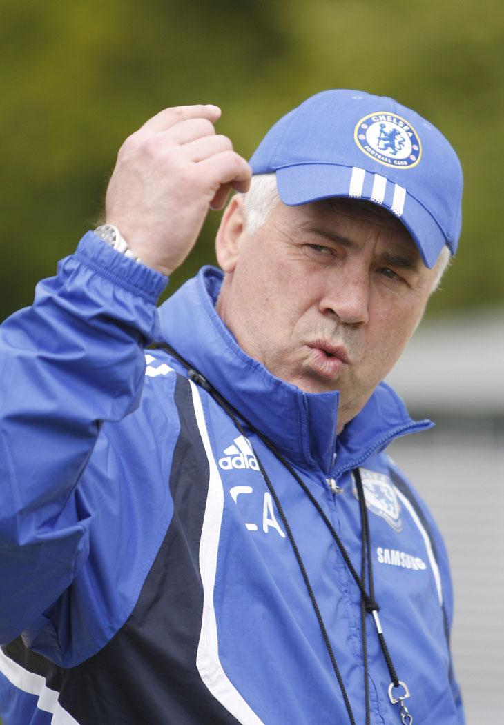 Carlo Ancelotti attempts today to clinch Chelsea's first Double - the 11th time it will have been won in England