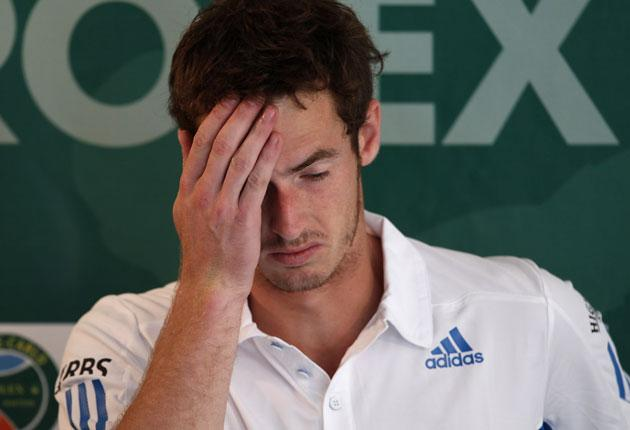 Andy Murray ponders whether hitting a ball against a wall for nine hours or three laps of the hotel pool under duress would be the lesser of two evils, in the Weird World of Sport...