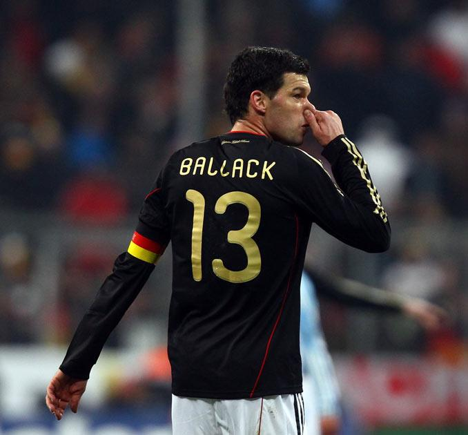 Ballack misses out after getting injured in the FA Cup final