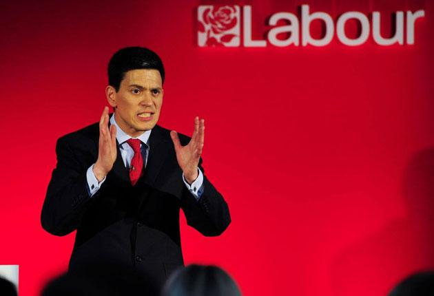 David Miliband launched his bid to lead the Labour Party today