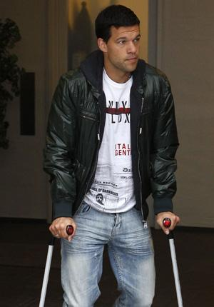 Ballack limps out of the World Cup – putting spotlight on Boateng