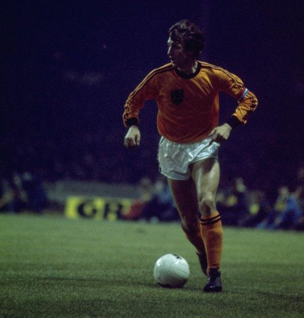 <b>23. Cruyff won't take part</b><br/> He was the star of the 1974 World Cup, but Johan Cruyff refused to travel to South America for the next instalment. At the time the reasons given were political, the Dutch master disagreeing with the dictatorship in