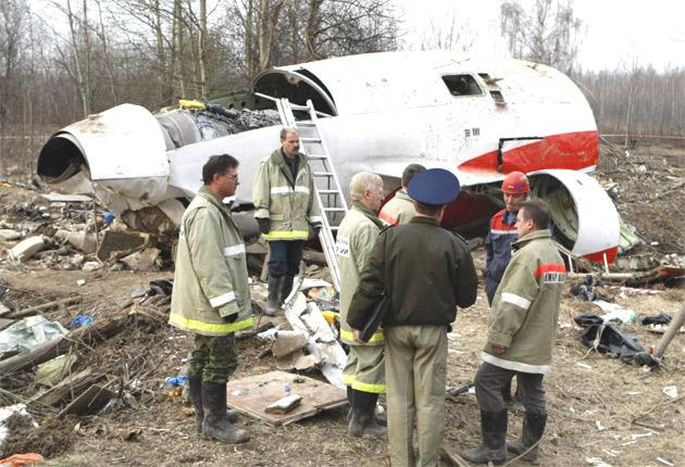 Investigations into the crash of the Tupolev Tu-154 are examining whether the rolling terrain around Smolensk affected the plane's navigation equipment