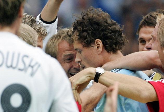 <b>19. Germany win over the fans</b><br/> Before the 2006 World Cup kicked-off, fans of the host nation Germany were less than enamoured with their team. Poor results, a squad of underperforming stars and a manager who resided in America meant the team we