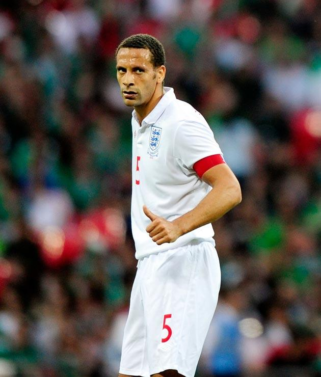 <b>Rio Ferdinand</b> Says he is fully fit, but not at his best here.5