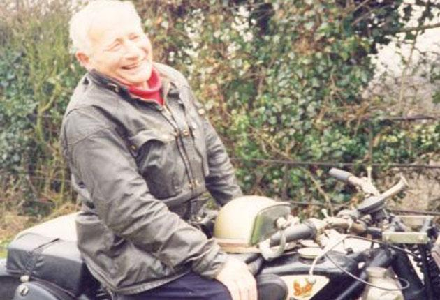 Allen: He rode round the coast of mainland Britain in a record 10 days