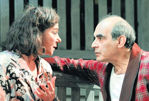 The name game: Zoe Wanamaker and David Suchet in the enigmatically titled All My Sons