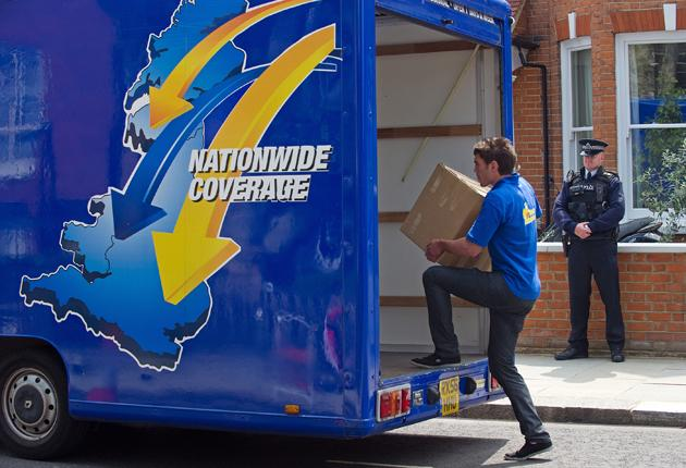 A reputable removals firm, like the one that took the Prime Minister's belongings from Notting Hill to Downing Street last week, will be a  member of a trade body