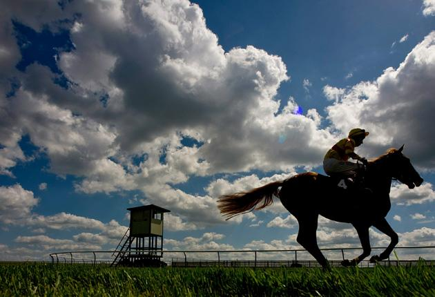 Newmarket racing took a turn in the sun yesterday but all eyes are on Epsom now