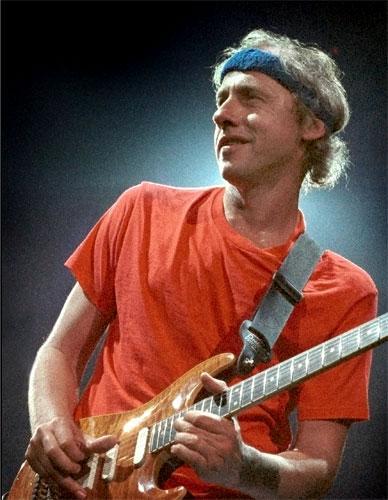 Dire Straits frontman, Mark Knopfler