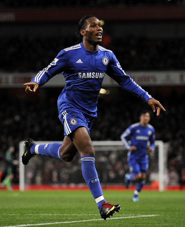 <b>Didier Drogba:</b> From Abidjan, the striker moved to France in his teens to play for Levallois. Spent seven years playing for French sides before signing for Chelsea in 2004 for £24m. The 32-year-old is the Ivory Coast's record goal scorer with 43 goa